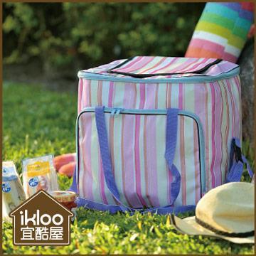 【ikloo】粉彩外出保冷袋/保溫袋
