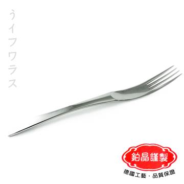 【鉑晶謹製】法蘭斯大餐叉-6入組