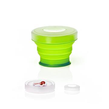 【Humangear】GoCup 隨身摺疊杯 (小)-萊姆綠