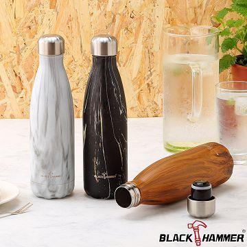 【BLACK HAMMER】 星煥不鏽鋼超真空保溫瓶510ml-兩入組