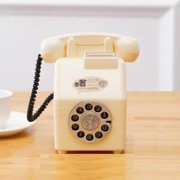日式仿古懷舊電話存錢筒、造型存錢罐