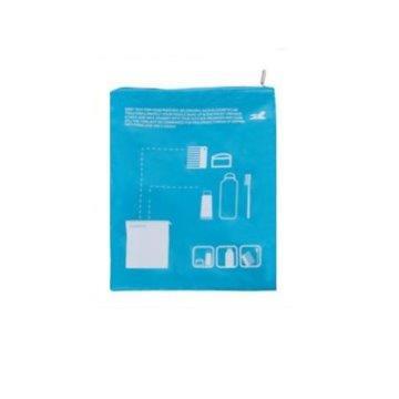 韓國防潮透氣旅行牛津收納拉鏈袋、洗漱收納袋(單入)