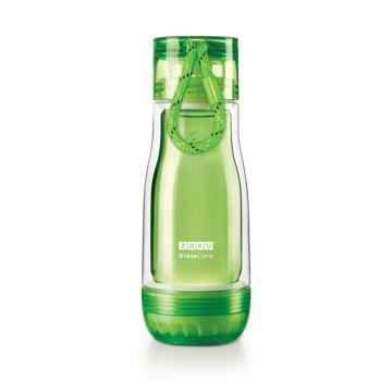 ZOKU繽紛玻璃雙層隨身瓶(355ml) - 綠色