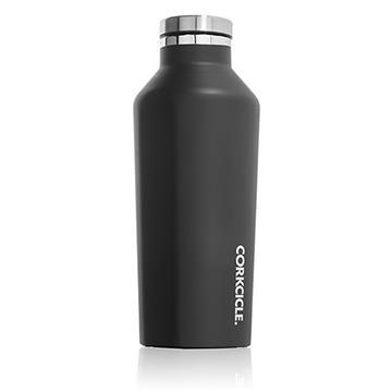 CORKCICLE 酷仕客Waterman戶外系列三層不鏽鋼易口保溫瓶-270ml(消光黑)