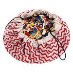 play&go玩具整理袋 - 電波紅
