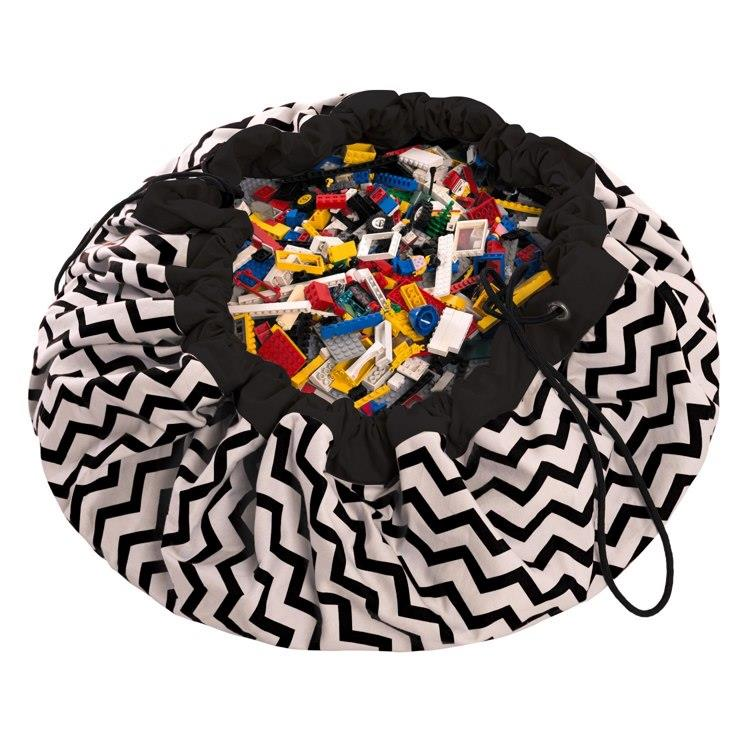 play&go玩具整理袋 - 電波黑