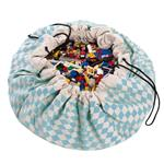 play&go玩具整理袋 - 菱格藍