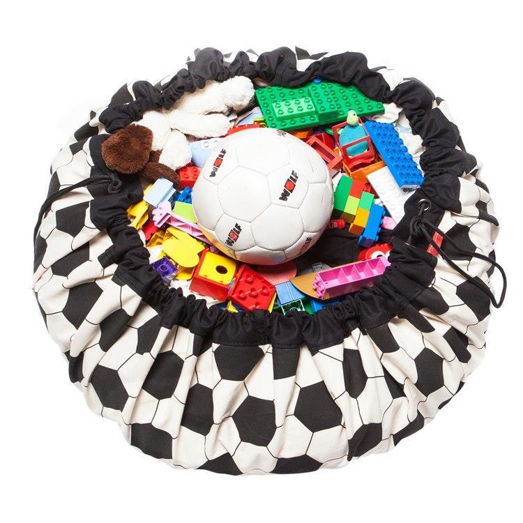play&go玩具整理袋 - 可愛足球