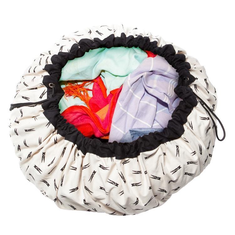 play&go玩具整理袋 - 造型衣夾