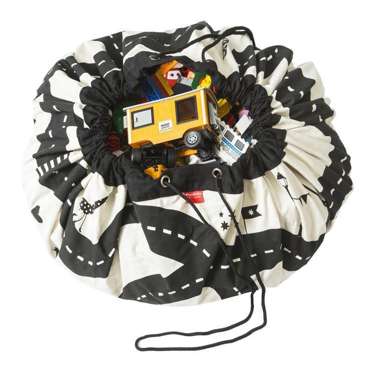 play&go玩具整理袋 - 跑跑公路