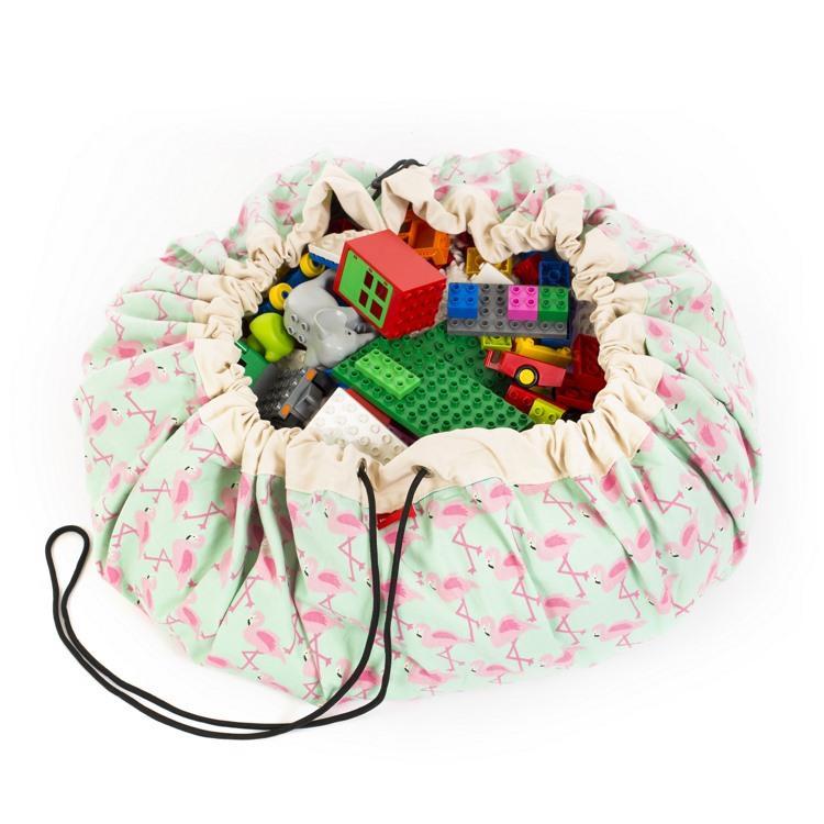 play&go玩具整理袋 - 派對紅鶴