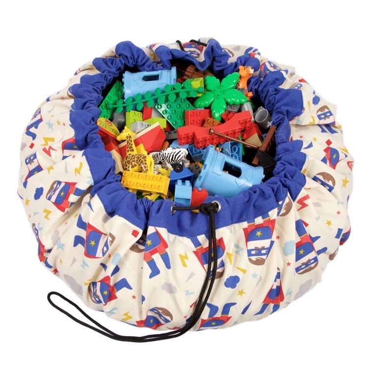 play&go玩具整理袋 - 藝術家聯名款 - 超級英雄