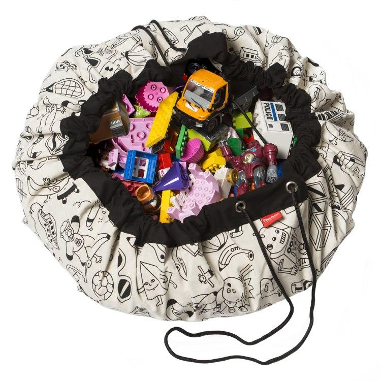 play&go玩具整理袋 - 藝術家聯名款 - 趣味塗鴉