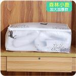 大容量可水洗衣物棉被收納整理袋(森林小鹿)