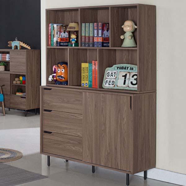 Yostyle 黛利拉4尺收納書櫃