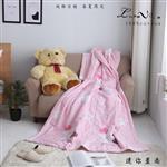 【Luna Vita】春夏100%精梳棉 透氣鋪棉涼被-迷你星尚