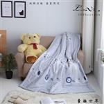 【Luna Vita】春夏100%精梳棉 透氣鋪棉涼被-童趣世界