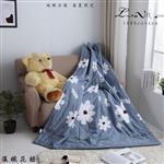 【Luna Vita】春夏100%精梳棉 透氣鋪棉涼被-溫婉花語