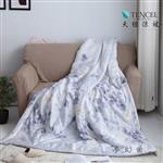 【Luna Vita】春夏100%頂級 緞紋天絲TENCEL 鋪棉涼被-夢幻曲