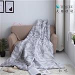 【Luna Vita】雙人 100%頂級 緞紋天絲TENCEL  床包三件組-和味