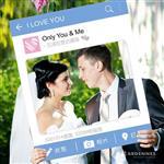 【ARDENNES】婚禮佈置系列 拍照小物 / 道具 / 打卡 / 效果框 WP001