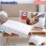 【Luna Vita × Dunlopillo】英國品牌 鄧錄普 100%天然乳膠枕-人體工學