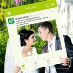 【ARDENNES】婚禮佈置系列 拍照小物 / 道具 / 打卡 / 效果框 WP009