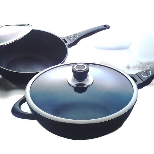 【OSAMA】王樣日式黑金鋼炒鍋-33cm