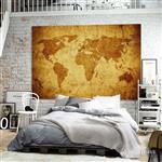 【ARDENNES】壁紙 壁布 中世紀仿古地圖 法國進口 / 居家佈置 DIY / MAP019