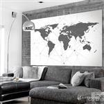 【ARDENNES】壁紙 壁布 中世紀仿古地圖 法國進口 / 居家佈置 DIY / MAP026