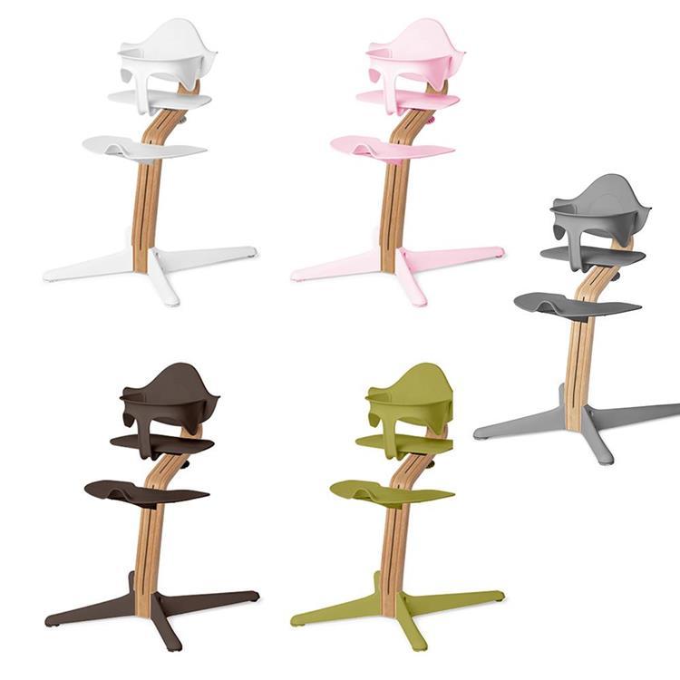Nomi|丹麥多階段兒童成長學習調節椅(豪華組)- 粉色
