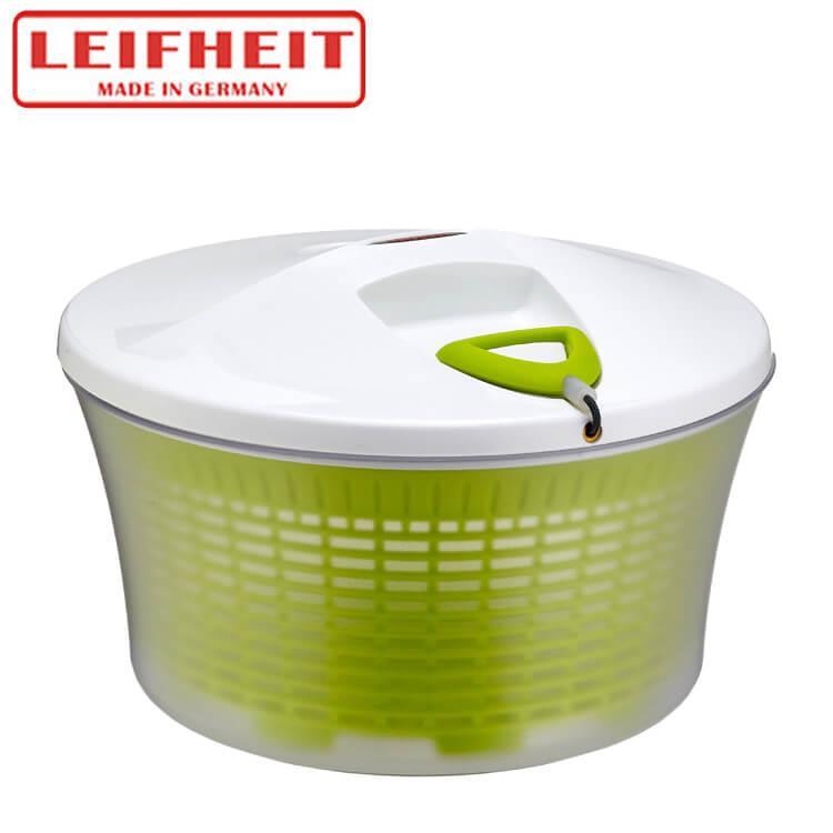 【德國LEIFHEIT】拉繩式蔬果沙拉脫水器(綠色)