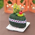 【迎光】甜心蛋糕多肉植栽-綠