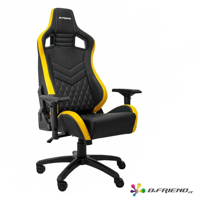 B.Friend GC05 電競專用椅-黃黑