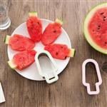 不鏽鋼冰淇淋造型切西瓜模具(顏色款式隨機出貨)