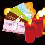派樂擬真燭火水點燈 環保安全防水蠟燭燈(1對2入+祈福卡5張)中元普渡
