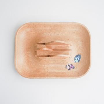 TOSMU 童心木 小物收納盤-山與海的距離