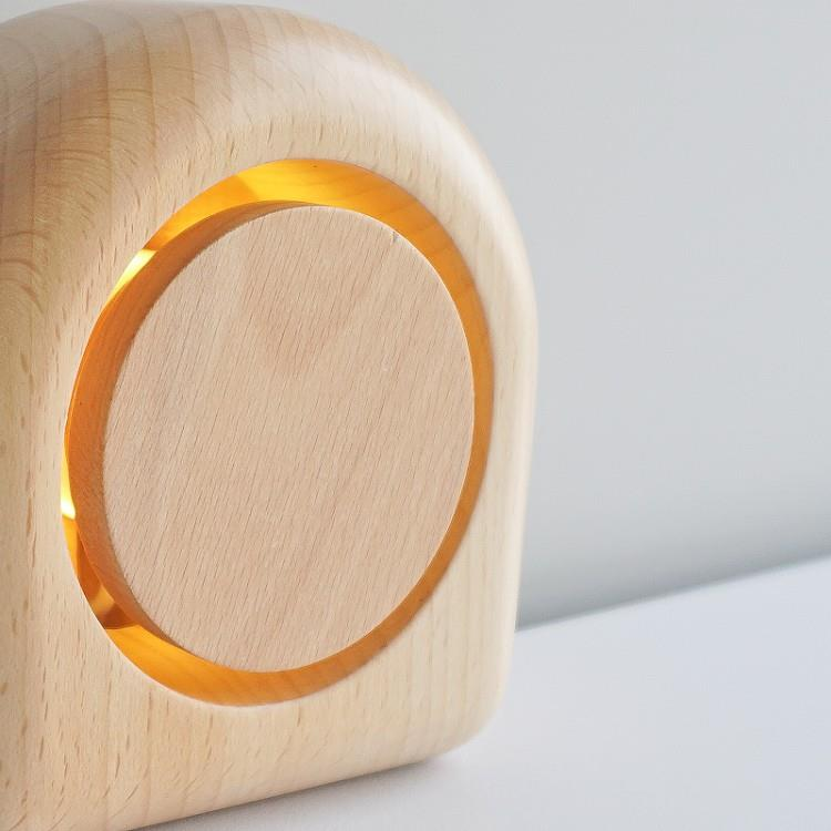 TOSMU 童心木 木製氣氛小夜燈-日環
