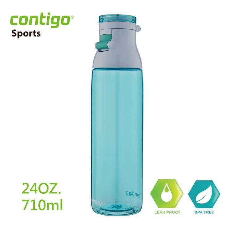 【美國CONTIGO】Jackson可樂瓶710cc(灰綠)