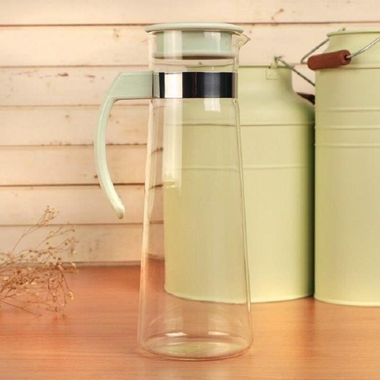 耐熱玻璃紫羅蘭水壺 1.1L