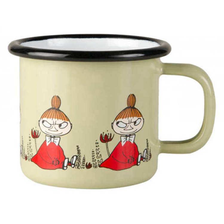 【芬蘭Muurla】嚕嚕米系列-朋友系列小不點150cc 濃縮咖啡杯/琺瑯杯
