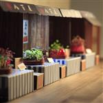 【Fresco】超值組合 - Paper Garden LED迷你植物燈/八百屋+糖果草莓(含運)
