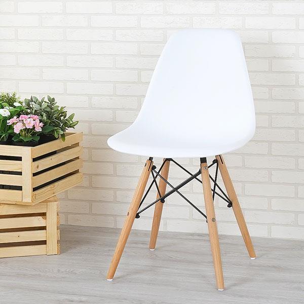 Yostyle 菲爾造型椅(亮麗白)