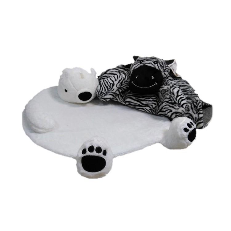 動物造型地墊/座墊- 北極熊