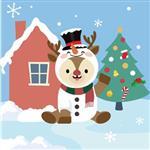 [HOMEHERE] DIY數字油畫/ 聖誕出任務- 迷路了?