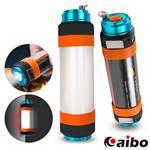 USB充電 照明/驅蚊/求救 多用途防水露營燈管(LI-14)