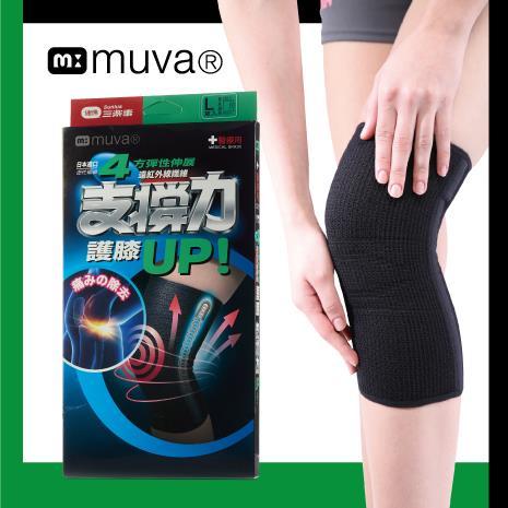 muva 遠紅外線專業支撐護膝(1入)