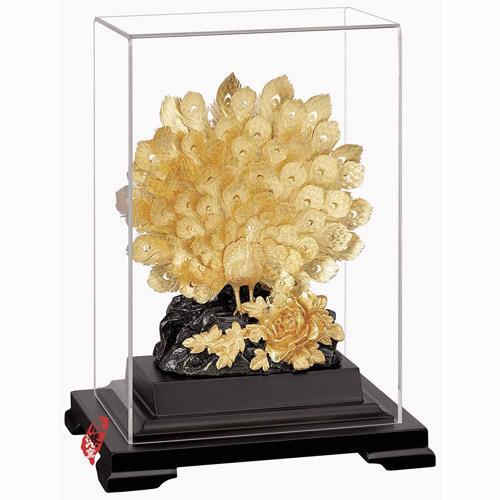 My Gifts-立體金箔畫-櫥窗系列 富貴吉祥17x14cm