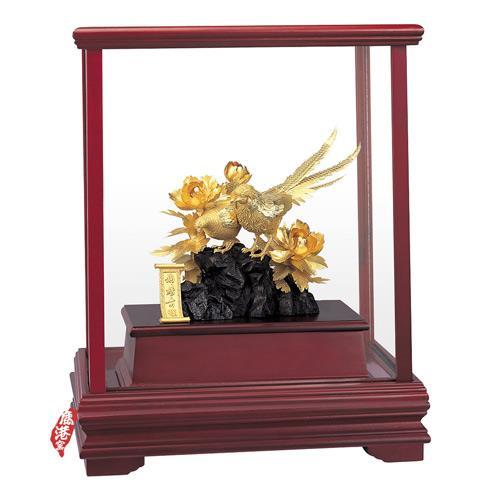 My Gifts-立體金箔畫-櫥窗系列 前程似錦29x17cm