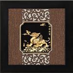 My Gifts-立體金箔畫-框畫系列 招財進寶-貔貅24x24